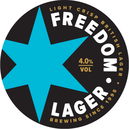 Freedom Four 'British Lager' 4% 50L Keg